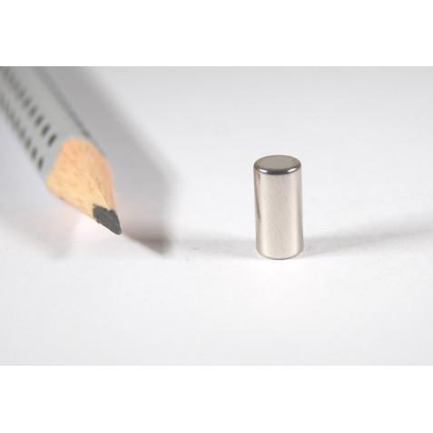 Magnet ø 5x10 mm, max. Haftkraft 990 g