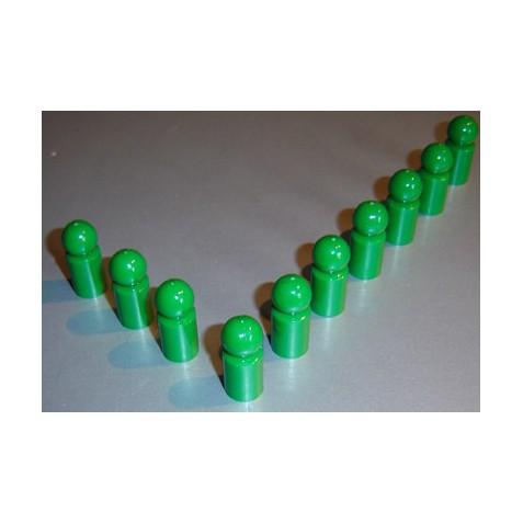 10x Pinnwandmagnet extra stark, grün