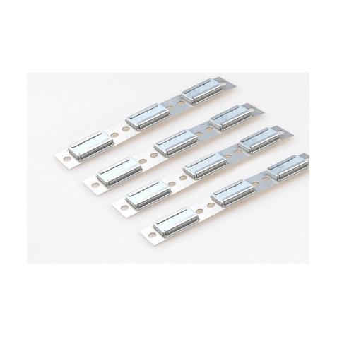 4x Magnetprofil 3x fach inkl. Magnete