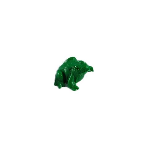 Dekomagnet Frosch grün