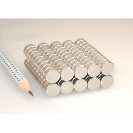Magnet ø 10x5 mm, max. Haftkraft 3,5 kg