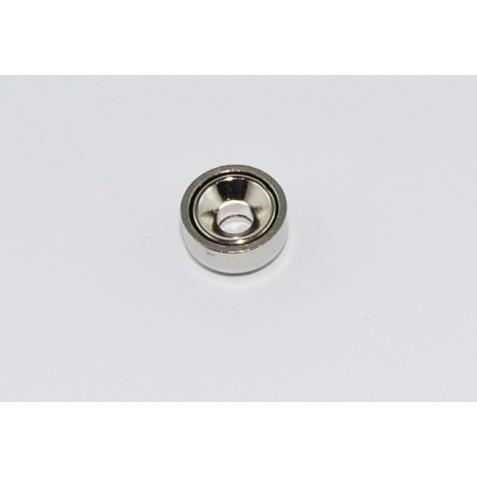 Magnet ø 10 mm mit Loch und Senkung max. Haftkraft 2kg