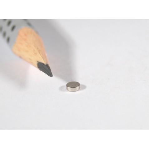 Magnet ø 3x1 mm, max. Haftkraft 360 g