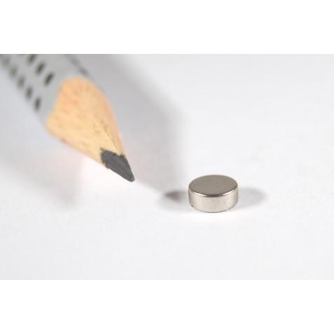 Magnet ø 5x2 mm, max. Haftkraft 980 g