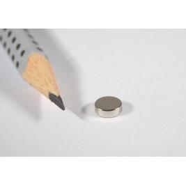 Magnet ø 6x2 mm, max. Haftkraft 1090 g