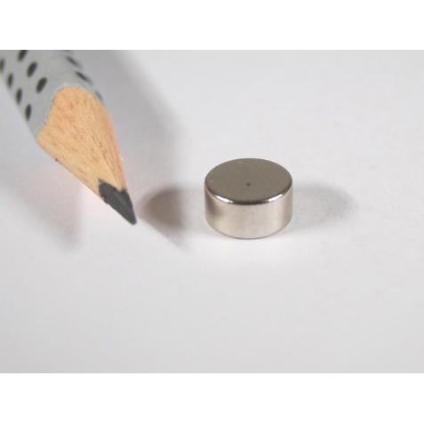 Magnet ø 8x4 mm, max. Haftkraft 1,8 kg