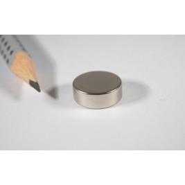Magnet ø 14x5 mm, max. Haftkraft 6 kg