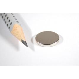 Magnet ø 16x2 mm, max. Haftkraft 4,9 kg