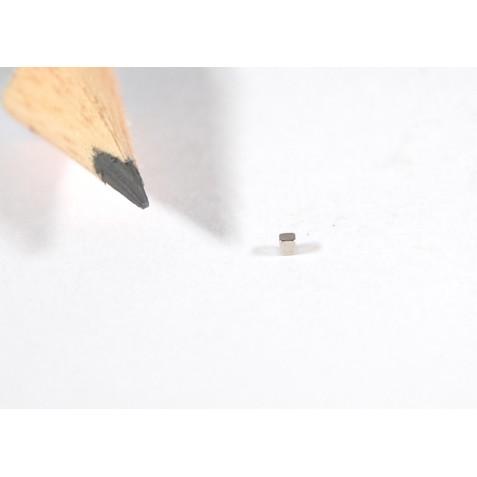 Magnet 1x1x1 mm, max. Haftkraft 35 g