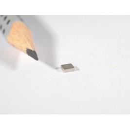 Magnet 3x3x1 mm, max. Haftkraft 170 g