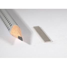 Magnet 30x4x1 mm, max Haftkraft 2,7 kg