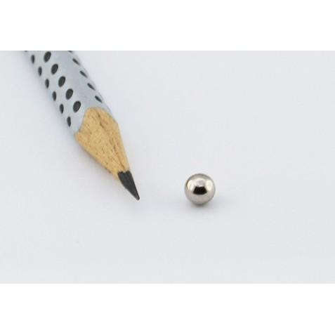 Kugelmagnet Ø 5 mm, max. Haftkraft 550 g